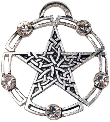 Celtic Pentagram Pendant - The Eccentric Muse