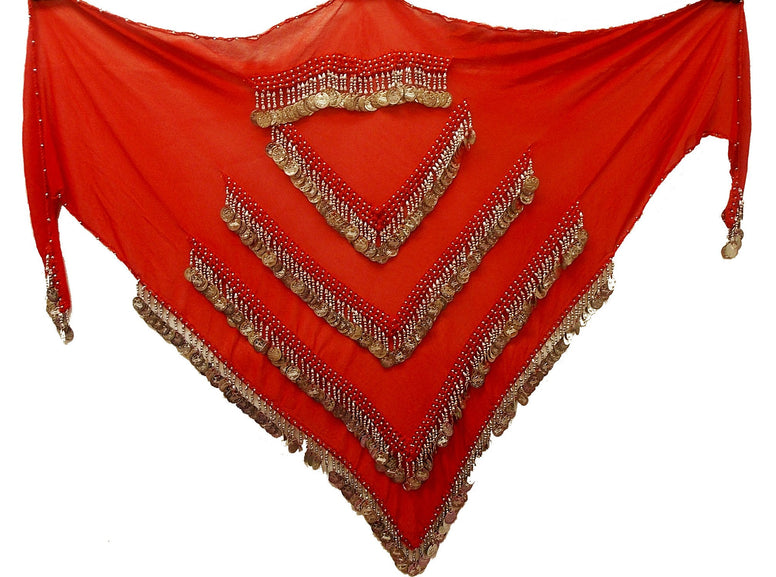 Belly Dancing Hip Scarf - The Eccentric Muse