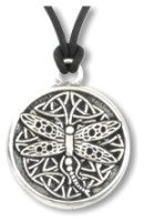 Celtic Wisdom Dragonfly Necklace - The Eccentric Muse