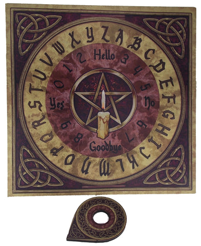 Pentacle Spirit Board - The Eccentric Muse