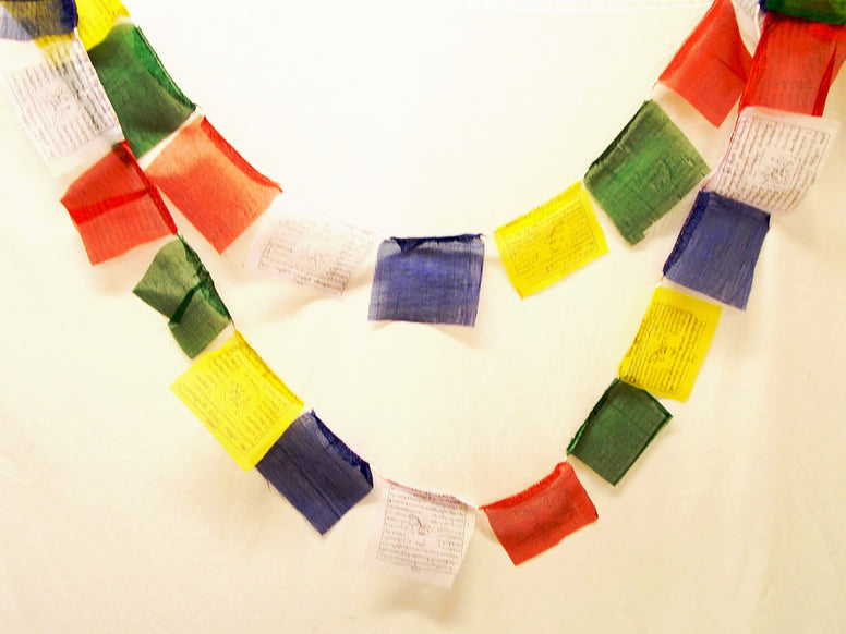 Clearance - Small Wind Horse Tibetan Prayer Flags - The Eccentric Muse