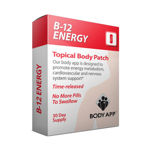 B-12 Energy Topical Body Patch