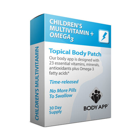 Children's Multi + Omega3 Topical Body Patch
