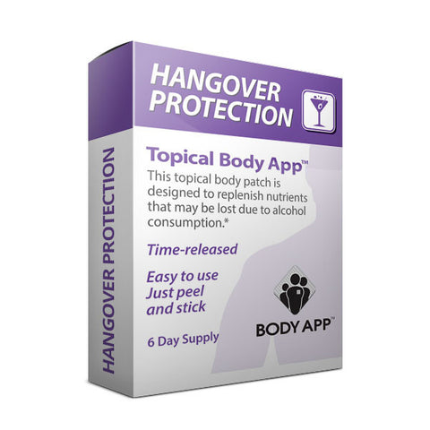 Hangover Protection Topical Body Patch