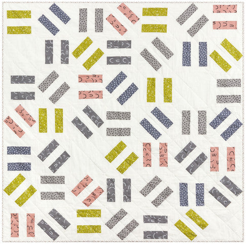 free double dash quilt pattern now available!