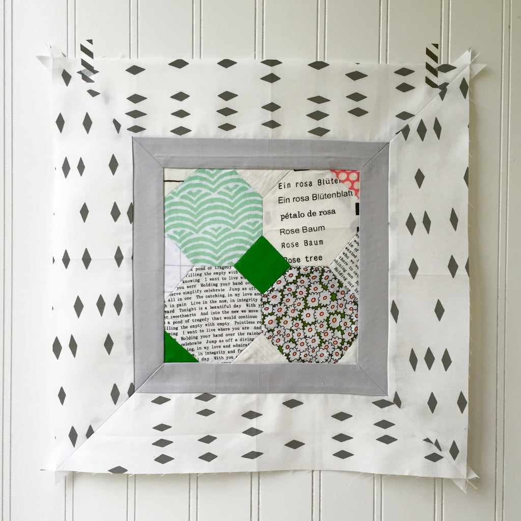 modern sampler quilt along: block H link-up