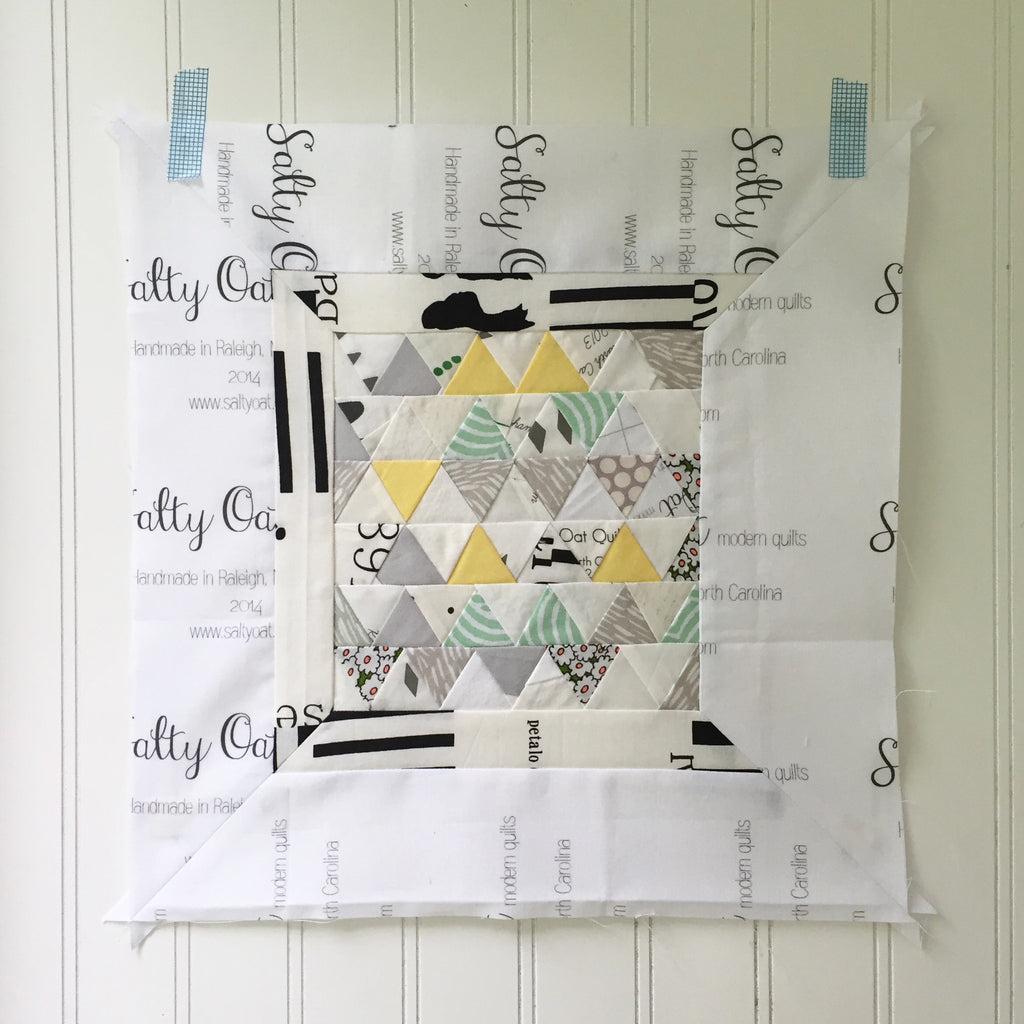 modern sampler quilt along: block I link-up