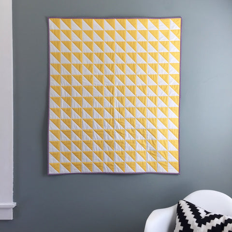 Whole-Cloth Quilt by Salty Oat