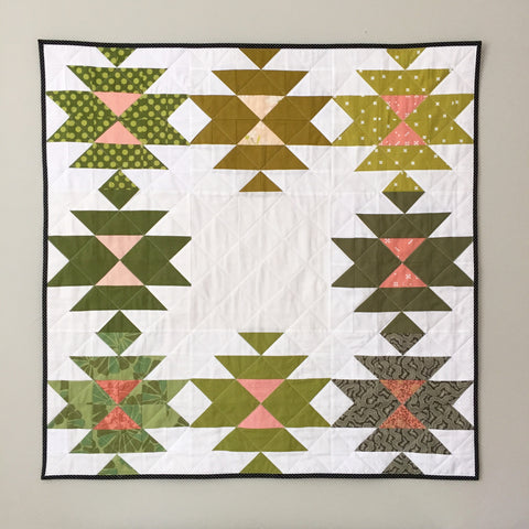 Squash Blossom Quilt by Salty Oat