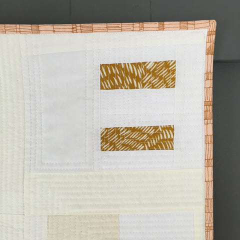 Improv Wall Quilt by Salty Oat