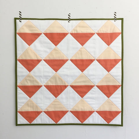 Hourglass Wall Quilt by Salty Oat