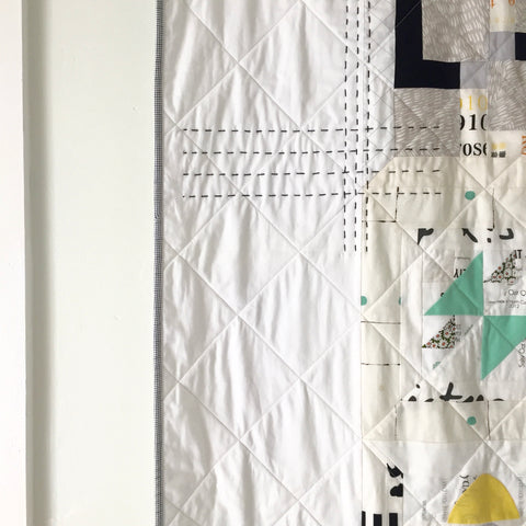 Modern Sampler Quilt by Salty Oat