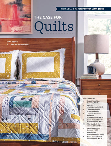 Salty Oat in the Fall 2017 Spoonflower Magazine