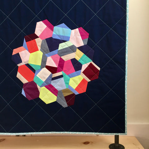 Hexagon Quilt Detail