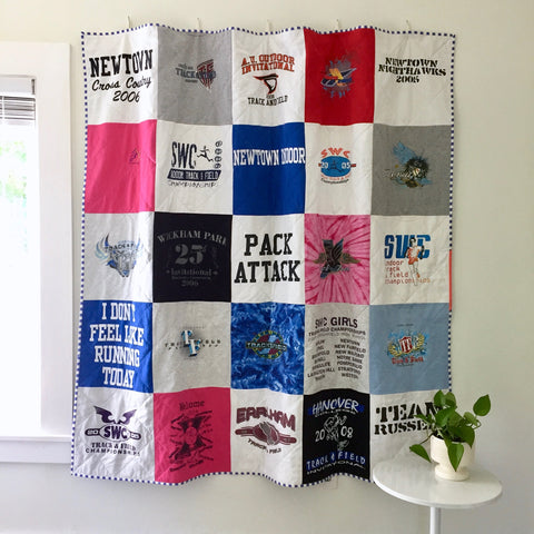 T-shirt Quilt by Salty Oat