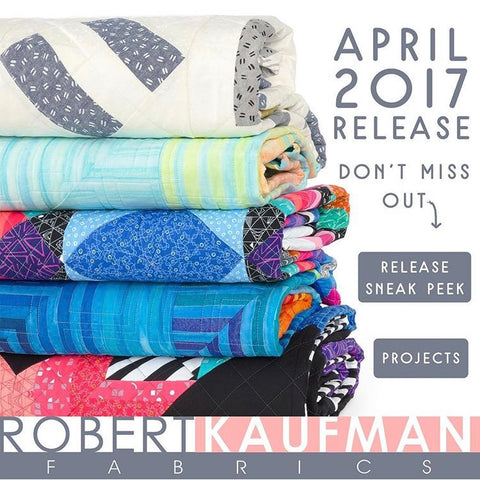 Stack of Robert Kaufman Quilts