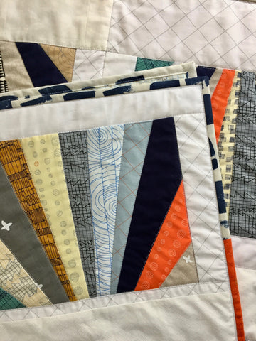 Sunrise Baby Quilt by Salty Oat