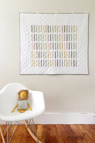 Bartow Baby Quilt by Salty Oat