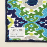 Amish Hourglass Baby Quilt by Salty Oat