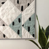 Cotton & Flax Flying Geese Wall Quilt