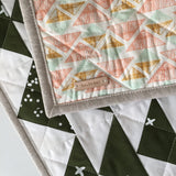 Cotton & Flax Flying Geese Mini Quilt
