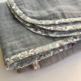 Liberty of London + Indigo Double Gauze Swaddle Blanket
