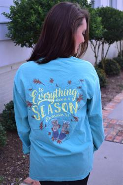 Anna Grace Tee Ecclesiastes 3:1-Long Sleeve