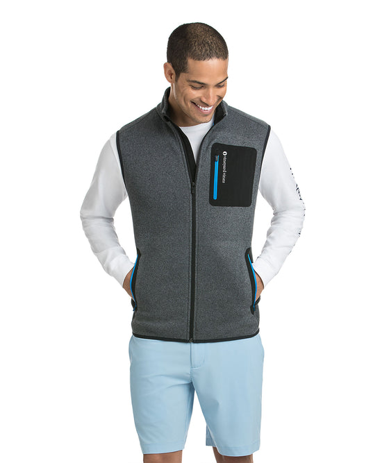 Tech Sweater Fleece Vest