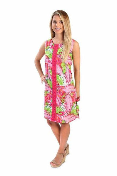 Flamingo Adult Addison Dress