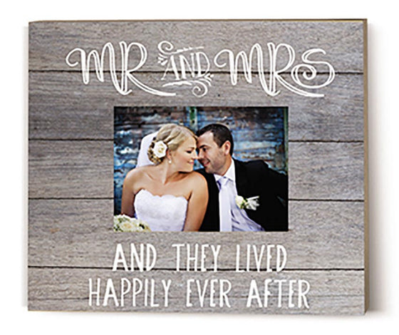 Personalize Mr. and Mrs. Kindred Hearts Frame