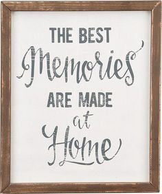 Best Memories Frame Board