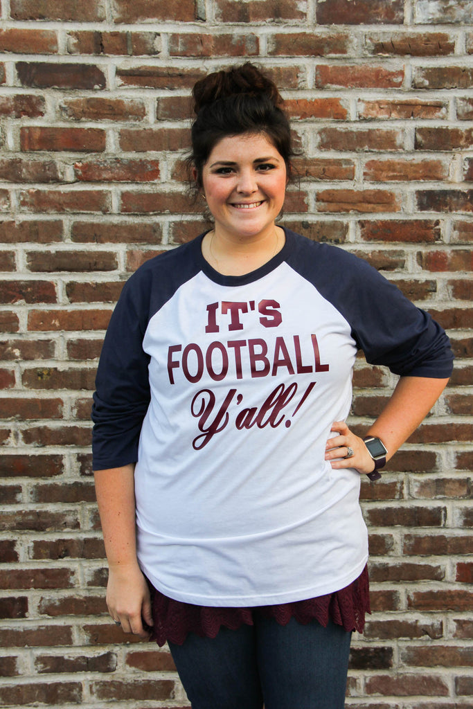"""It's Football Y'all"" Tee"