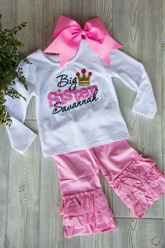 Big Sister Outfit Set w/ Name