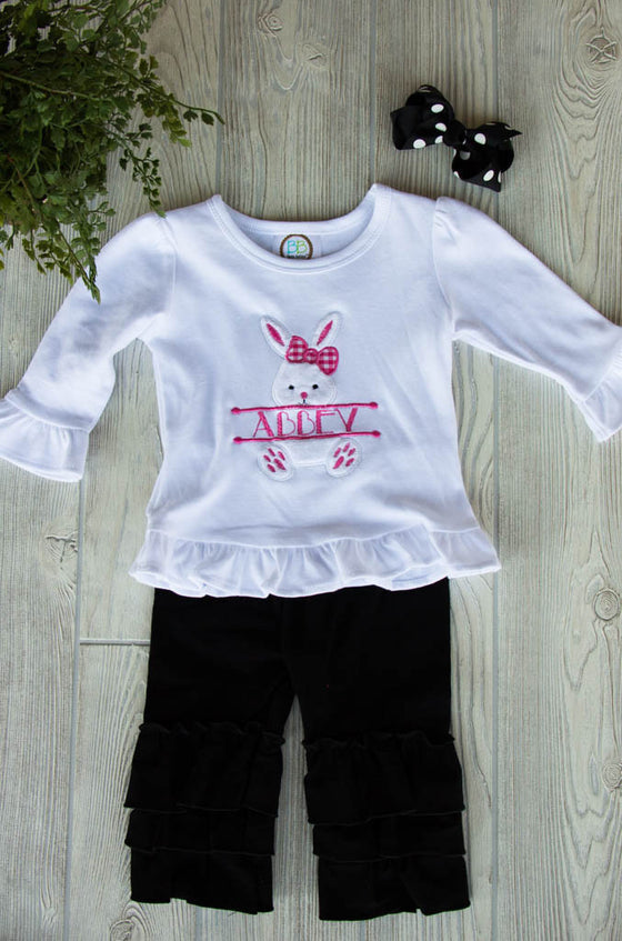Easter Bunny Outfit Set w/ Name