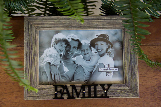 Family  4X6 Wood Frame