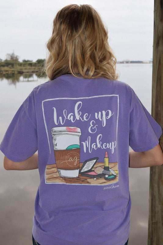 Anna Grace T-Shirt Wake Up - Short Sleeve