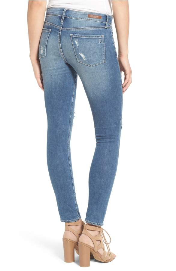 Articles of Society Karen Skinny Distressed Crop Skinny Jeans