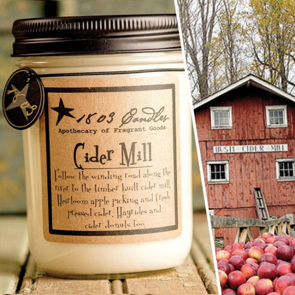 Cider Mill Soy Jar Candle