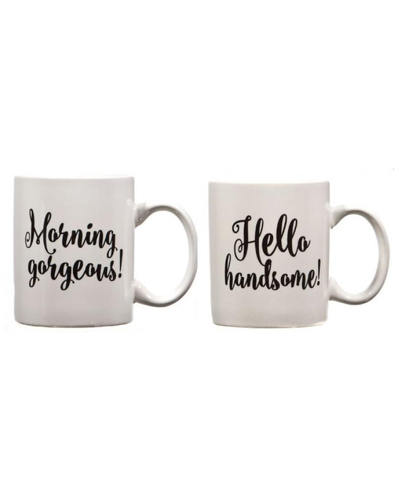 Handsome/Gorgeous Mugs Set