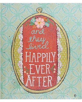 And They Lived Happily Ever After Canvas