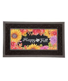 """Happy Fall"" Insert for Mat Base"