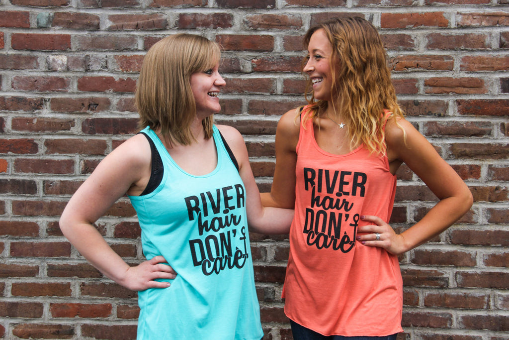 River Hair Don't Care Comfort Colors Tank