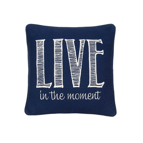 Live in the Moment Accent Pillow