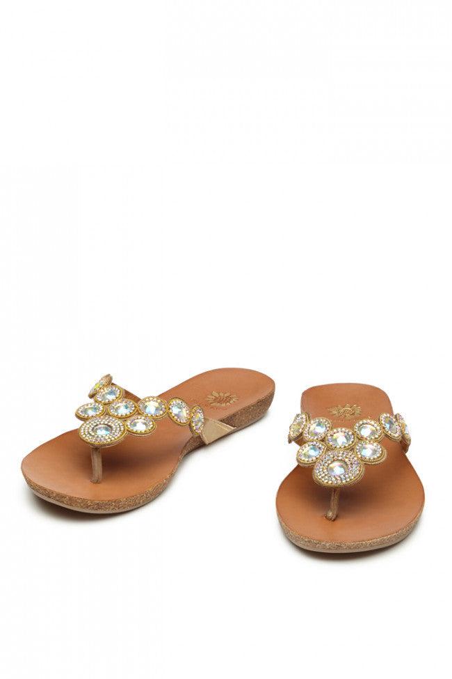 Yellow Box Nectarine Sandal
