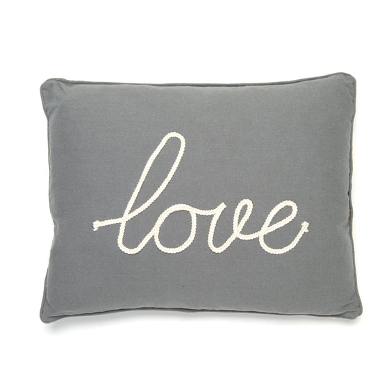 Love Rope Accent Pillow