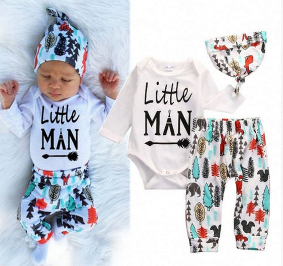 Knot Head Little Man Outfit