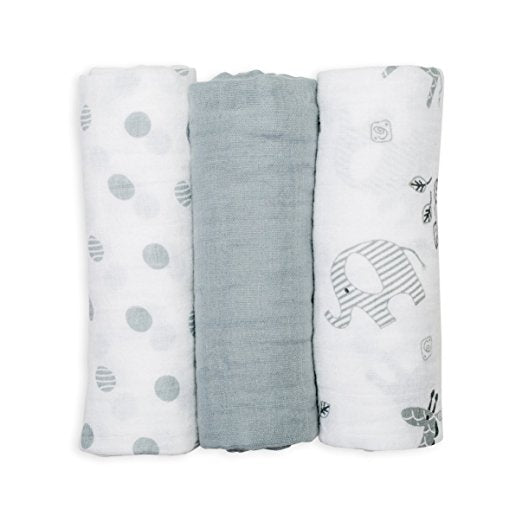 Mini Muslin Cloth-Set of 3
