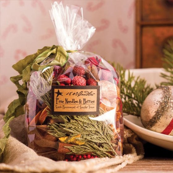 Pine Needles & Berries Scented Botanicals