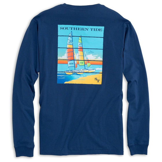 Beachside Catamarans Longsleeve T-Shirt