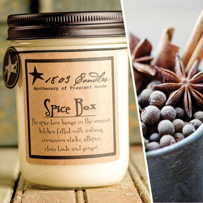 Spice Box Soy Jar Candle